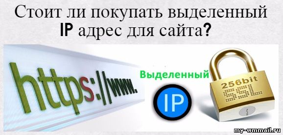 Хостинг выделенный айпи адрес зачем автопартнёр курск официальный сайт